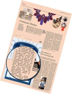 Financial Times Style - Dèj on bracelets